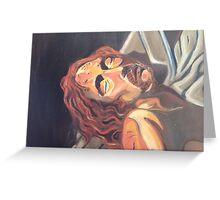 Pieta Jesus 2012 Greeting Card