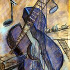 I painting  Blue Guitar after reading what Pablo Picasso wrote about IT  by ejameson
