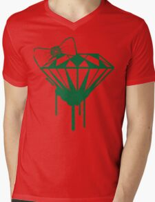 Christmas Diamond Tee :D Mens V-Neck T-Shirt