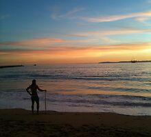 California Sunset by Analia Vulich