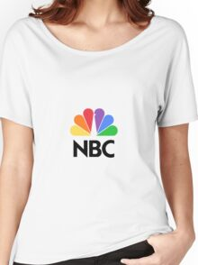 NBC Logo Women's Relaxed Fit T-Shirt