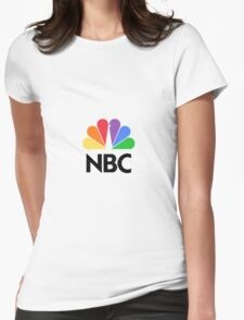 NBC Logo Womens Fitted T-Shirt