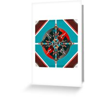Compass 2 Greeting Card