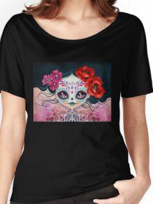 Amelia Calavera - Sugar Skull Women's Relaxed Fit T-Shirt