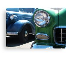 Classic 1950's Car Show Canvas Print