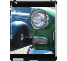 Classic 1950's Car Show iPad Case/Skin