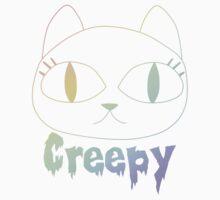 Creepy Cat (Black Vers.) Kids Clothes