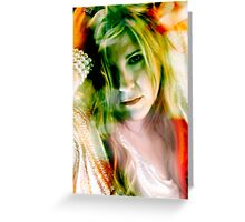 Nichole Lynne / Model Greeting Card