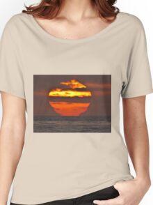 Pacific Ocean Sunset Women's Relaxed Fit T-Shirt