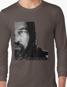 The Revenant Leonardo di Caprio Long Sleeve T-Shirt