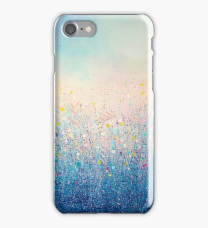 Early Morning, Winter Blue iPhone Case/Skin