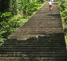 Ancient Stairs in Guatemala by heatherfriedman