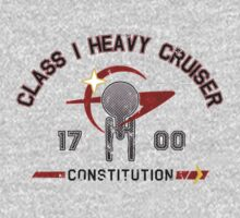 Heavy Class Cruiser Front - light T-Shirt