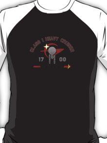 Heavy Class Cruiser Front - light T-Shirt