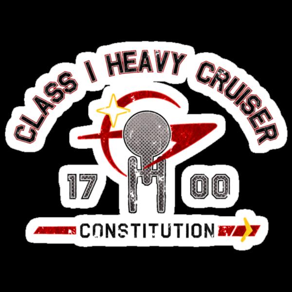 Heavy Class Cruiser Front - light by Jeffery Wright