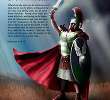 The Whole Armor of God - Poster 2 by Thomas Gehrke