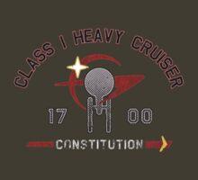 Heavy Class Cruiser Front - Dark by Jeffery Wright