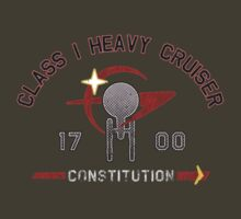 Heavy Class Cruiser Front - Dark T-Shirt