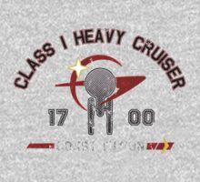 Heavy Class Cruiser Front - Dark Kids Tee