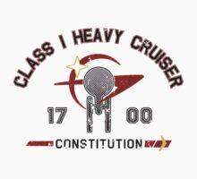 Heavy Class Cruiser Back - light Kids Clothes
