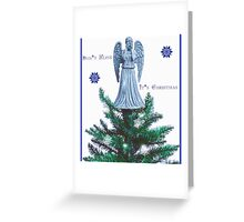 Doctor who weeping angel  Greeting Card