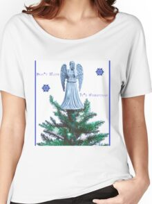 Doctor who weeping angel  Women's Relaxed Fit T-Shirt