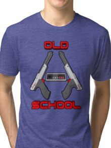 Old School Gamer 2 Tri-blend T-Shirt