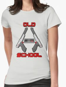 Old School Gamer 2 Womens Fitted T-Shirt