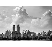 San Remo and Clouds Photographic Print