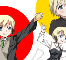 Erica Hartmann - Strike Witches PRIMARY CIRCLES Sticker