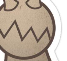 Slug Man Sticker