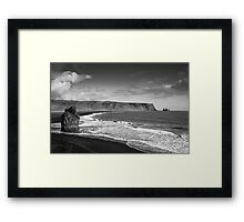 Clearing Clouds Framed Print