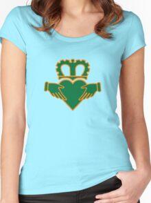 claddagh  ireland  irish crown Women's Fitted Scoop T-Shirt