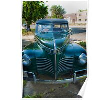 1940 Plymouth Woody Wagon Poster