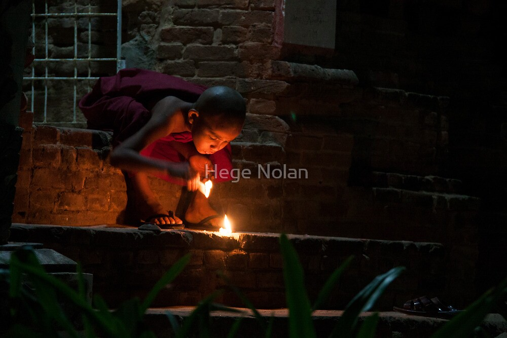 Novice Fireworks by Hege Nolan