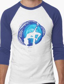 Blue Moon Woman Men's Baseball ¾ T-Shirt