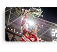 Sebastian Vettel, Race of Champions Champion Canvas Print