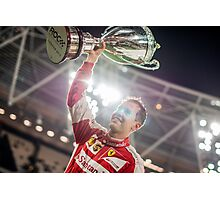 Sebastian Vettel, Race of Champions Champion Photographic Print