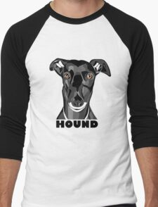 Boris the Greyhound mk2 Men's Baseball ¾ T-Shirt