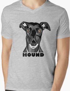 Boris the Greyhound mk2 Mens V-Neck T-Shirt