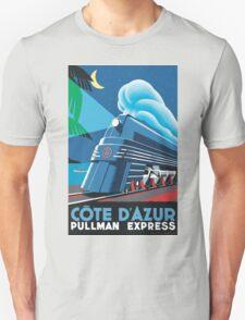Cote D'Azur Travel Poster Unisex T-Shirt