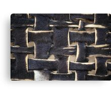 Leather Stripes Canvas Print