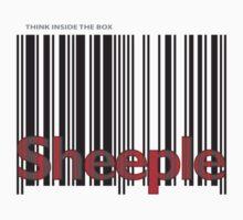 Sheeple InsideBoxBlack by Paul Fleetham