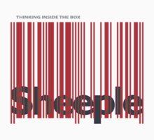 Sheeple InsideBoxRed by Paul Fleetham