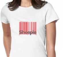 Sheeple InsideBoxRed Womens Fitted T-Shirt