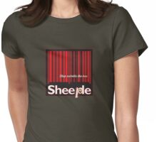 Sheeple StepOutside1 Womens Fitted T-Shirt