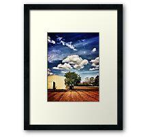 ~ the country farm ~ Framed Print
