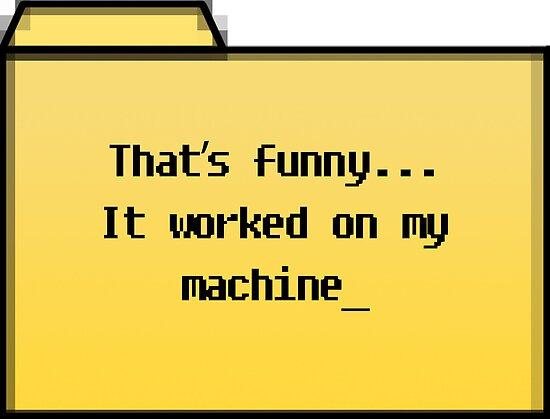 My Machine - Geek Cards by bertadp