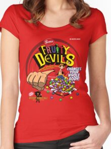 Gomu Fruity Devils Women's Fitted Scoop T-Shirt