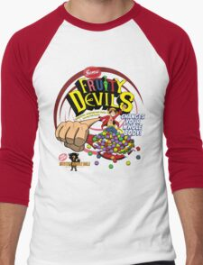 Gomu Fruity Devils Men's Baseball ¾ T-Shirt